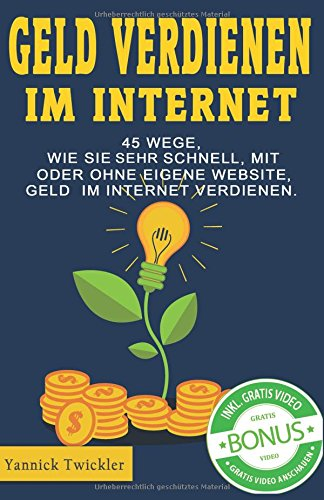 geld verdienen ohne internet
