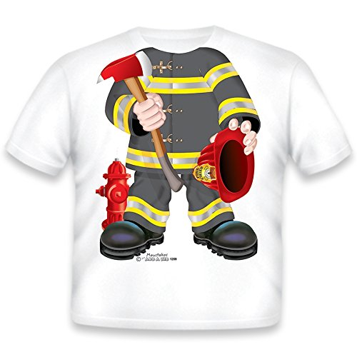 Just Add A Kid Baby Boys' Firefighter T-Shirt