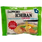 Sapporo Ichiban Japanese Style Noodles and Chicken Flavored Soup, 3.5-Ounce (Pack of 24)