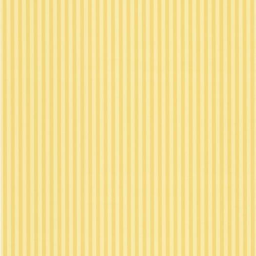 Waverly 5508350 Single Stripe Wallpaper, Lemon, 20.5-Inch Wide