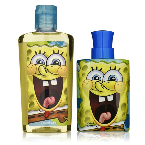 nickelodeon-spongebob-squarepants-2-piece-gift-set-for-boys-eau-de-toilette-spray-plus-body-wash