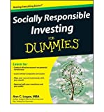 img - for [(Socially Responsible Investing For Dummies )] [Author: Ann C. Logue] [Jan-2009] book / textbook / text book