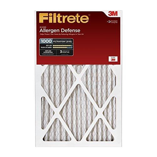 Filtrete Micro Allergen Defense Filter, MPR 1000, 12 x 30 x 1-Inches, Pack of 6 Size: 12x30x1 UnitCount: 6, Model: AD42-6PK-2E, Hardware Store