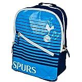 トッテナム・ホットスパー フットボールクラブ Tottenham Hotspur FC オフィシャル商品 クレスト入り リュックサック スクールバックパック スポーツバッグ サッカー (ワンサイズ) (ネイビー/ブルー)
