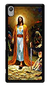 """Humor Gang Jesus Christ - God Printed Designer Mobile Back Cover For """"Sony Xperia Z3 - Sony Xperia Z3 Plus"""" (3D, Glossy, Premium Quality Snap On Case)"""