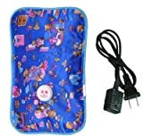 Accedre Rechargeable Electric 0.5 L Hot Water Bag (Multicolor)