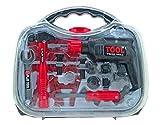 Bohrmaschine im Werkzeugkoffer für Kinder viel Zubehör