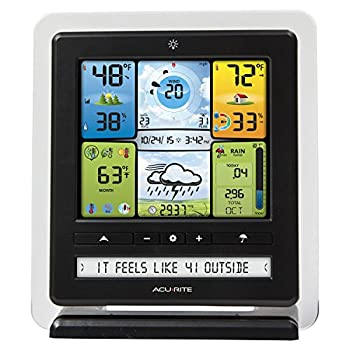AcuRite 02064MA1 Pro Weather Station with PC Connect, 5-in-1 Weather Sensor and My AcuRite Remote Monitoring App