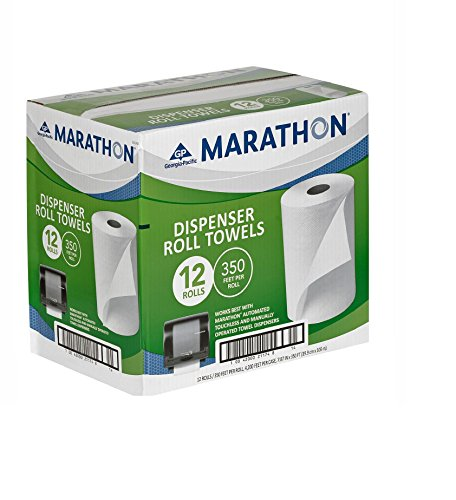Marathon Dispenser Roll Towels 12 Rolls For Marathon