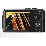 3 x atFoliX Film protection d'écran Panasonic Lumix DMC-TZ40 Film protecteur Protecteur d'écran - FX-Antireflex anti-reflet