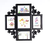 Empreus Black 5 Photo Collage Frame