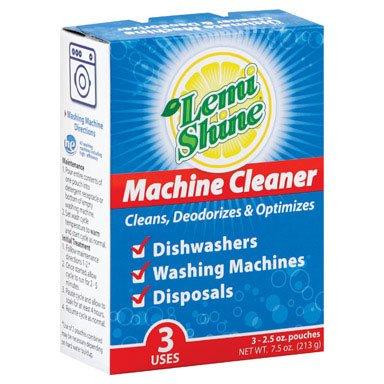 Lemi Shine Mc3 Machine Clean, 3 Pouches, 2.5oz. Each
