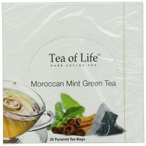 Tea Of Life Teas, Moroccan Mint, 25 Count