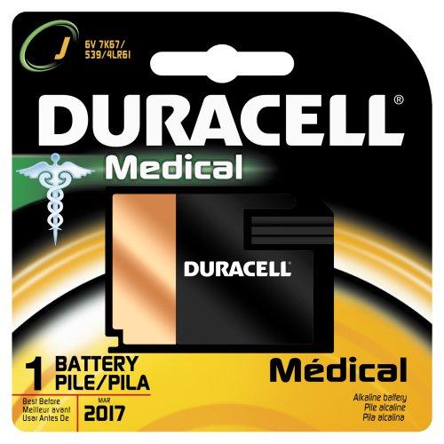 Duracell 7K67Bpk Alkaline-Manganese Dioxide Battery, J Size, 6V (Case Of 6)