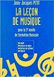 echange, troc Jean-Jacques Petit - Leçon de musique - 3ème année