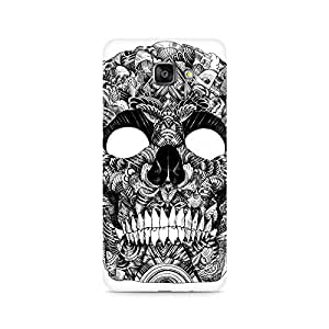 Mobicture Skull Artistic Premium Printed Case For Samsung A710 2016 Version