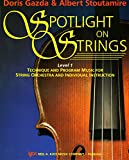 img - for 92VN - Spotlight On Strings - Violin - Level 1 book / textbook / text book