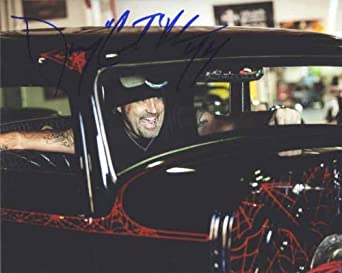 Danny Koker 'Counting Cars' Signed 8x10 Photo Authentic: Danny Koker