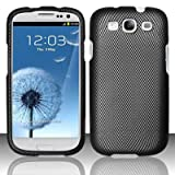 Samsung Galaxy S3 III i9300 - Rubberized Design Cover - Carbon Fiber
