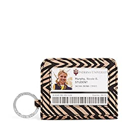 Vera Bradley Campus Double ID in Zebra