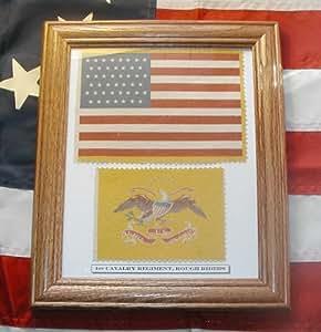 Theodore Roosevelt, 1st Cavalry, Rough Riders Flag set