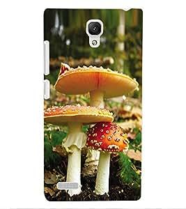 ColourCraft Beautiful Mushrooms Design Back Case Cover for XIAOMI REDMI NOTE 4G
