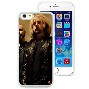 6 case,Unique Design Drowning Pool Stairs Railing Tattoo Rockers White iPhone 6 4.7 inch TPU case cover