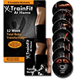 51Jc7CfzhGL. SL160  X TrainFit At Home Workout   Womens Complete Fitness   8 DVDs