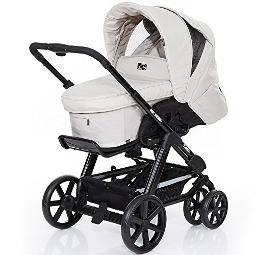 ABC Design Kombi-Kinderwagen Turbo 6 - Sheep weiss