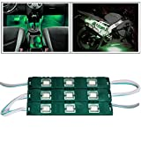#4: Vheelocityin 9 LED Custom Cuttable Bike/ Car Green Light for Interior/ Exterior