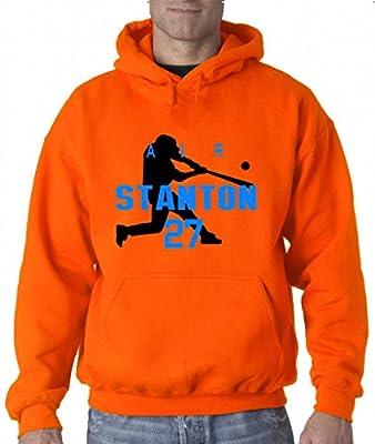 "Giancarlo Stanton Miami Marlins ""Air Home Run"" Hooded Sweatshirt"