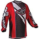 Fly Racing F-16 Race Jersey, Red/Black, Size: 2XL 365-5222X