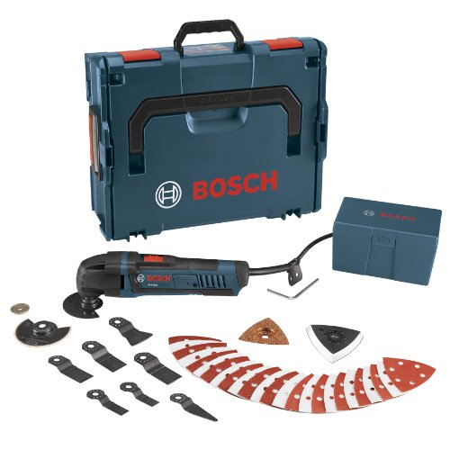 Bosch MX25EL-37 2.5-Amp Oscillating Tool, LBoxx and 37 Accessories