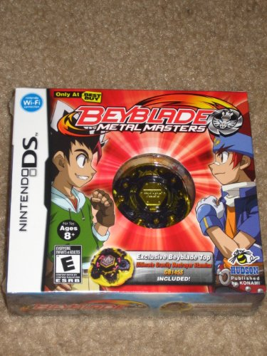Nintendo DS BEYBLADE Metal Masters Game with ULTIMATE GRAVITY DESTROYER STAMINA GB145S INCLUDED!
