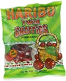 Haribo Gummi Candy, Twin Cherries, 5-Ounce Bags (Pack of 12)