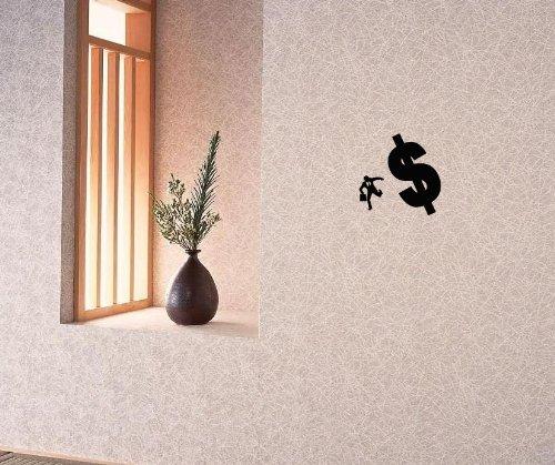 Wall Vinyl Decal Sticker Decor People Businessman And Dollar Home Room Interior Art Mural Room Kj1467