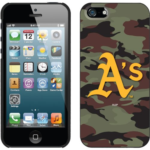 Great Sale Oakland Athletics - Traditional Camo design on a Black iPhone 5 Thinshield Snap-On Case by Coveroo