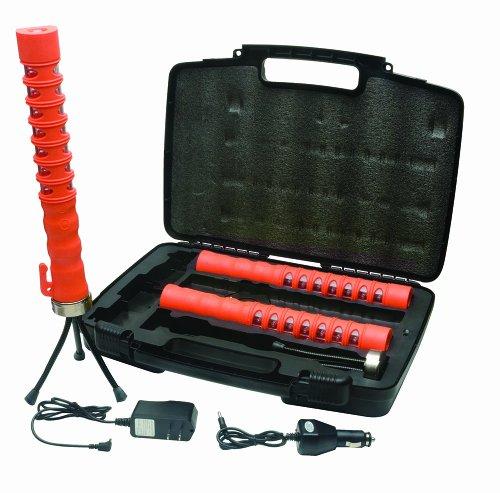 Aervoe Led Baton Road Flare 3- Pack Kit (Red Leds)