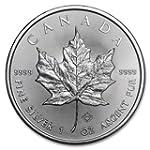 1 Oz Uncirculated 2015 Silver Canadia...
