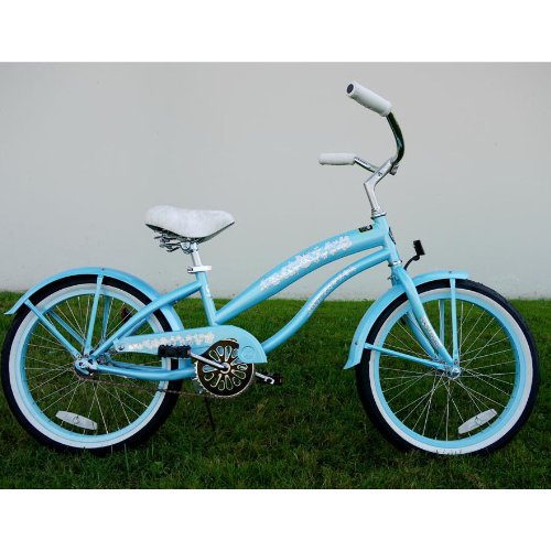 Kids bike girls 20 Beach Cruiser baby blue bicycle