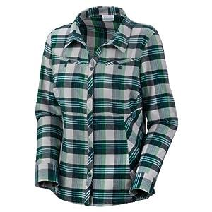 Buy Columbia Ladies Slide Rock Classic L S Shirt GREEN L by Columbia