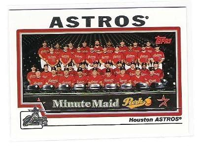 2004 Topps Baseball Card # 650 Houston Astros TC (Team Photo Card) Houston Astros - MLB Trading Card