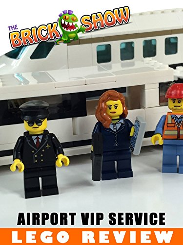LEGO City Airport VIP Service Review (60102)