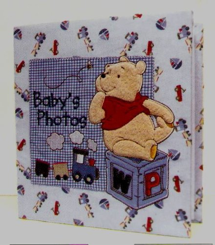 Baby's First Photo Album Featuring Disney's Winnie the Pooh - 1
