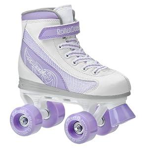 Roller Derby Firestar Girl's Roller Skate, Size- Jr 3