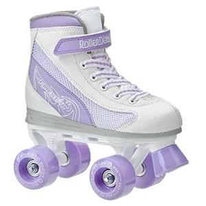 Roller Derby Firestar Girl's Roller Skate, Size- Jr 12