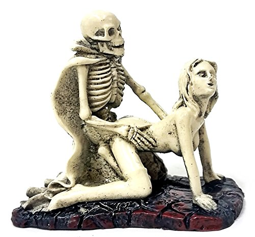 New Dracula Lover Skulls Sexy Statues Adult Ceremony