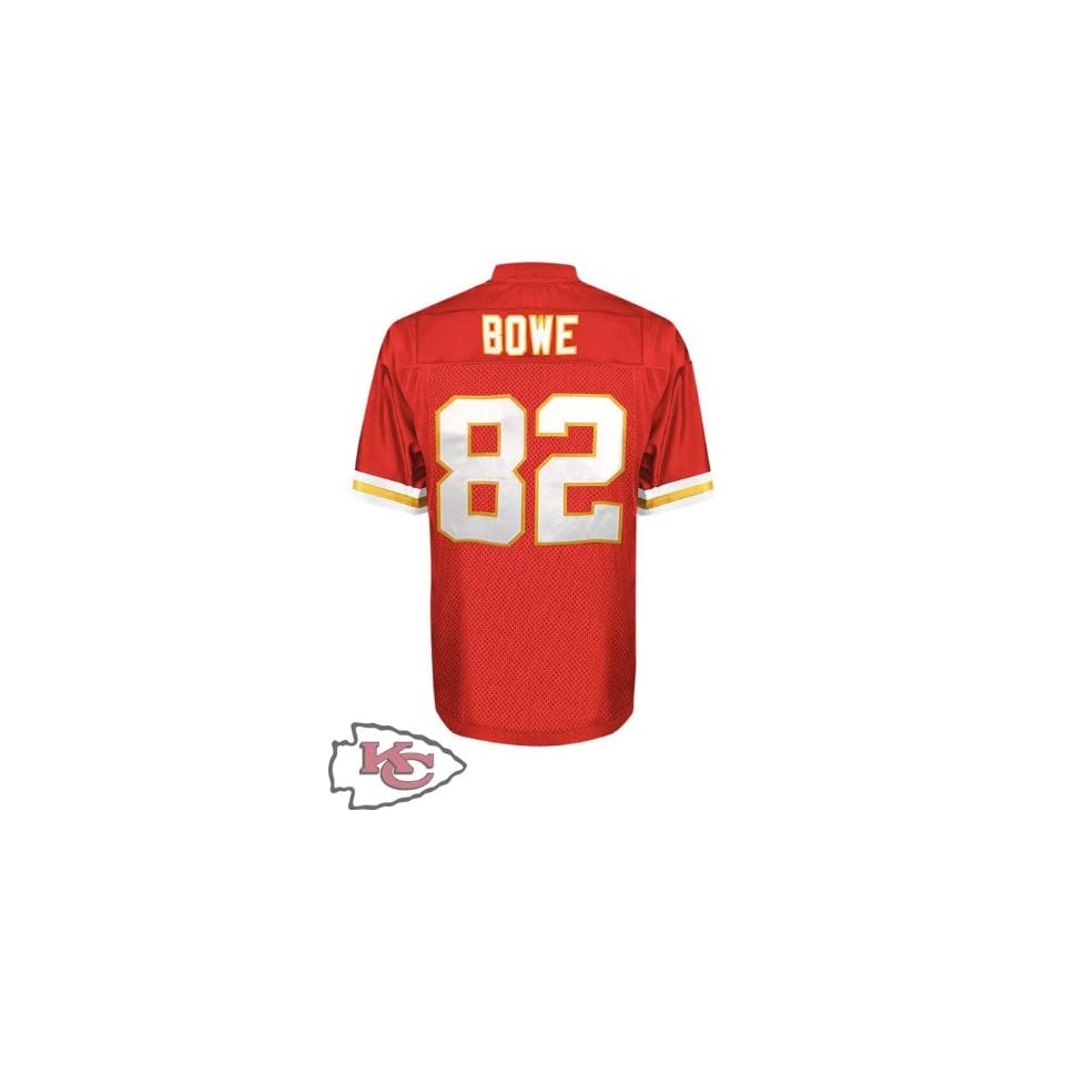 316feca1dad Kansas City Chiefs #82 Dwayne Bowe Red Jersey Authentic Football Jersey