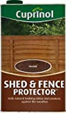 Cuprinol 5L Shed and Fence Protector Chestnut