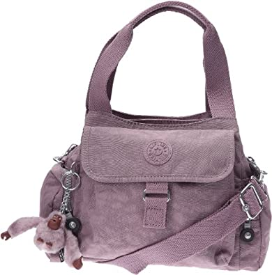 kipling fairfax k13655634 damen handtasche mit abnehmbarem schulterriemen mauve taupe. Black Bedroom Furniture Sets. Home Design Ideas